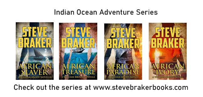 Steve Braker Action Adventure Author